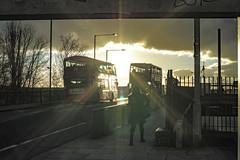 London light (Paul Wrights Reserved) Tags: london londonbus londonbuses londonstreets streetphotography graffiti framed bridge bus sun sunlight woman pavement traffic vehichles vehichle transport transportation londonlife sunrays cloud sunsets sunset sliderssunday