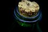 corked! (Herr Nergal) Tags: hx400v sony dsc raynox150 macro makro close up green grün simple negative space saarland 7dwf