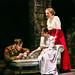 Tom Kay (Stephen Wraysford), Liz Garland (Jeanne) & Madeleine Knight (Isabelle Azaire) in BIRDSONG. Credit Jack Ladenburg
