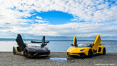 Roadsters (Gaetan | www.carbonphoto.fr) Tags: lamborghini aventador sv lp750 aventadors supercars hypercars cars coche auto automotive fast speed exotic luxury great incredible worldcars carbonphoto geneva genf gims2018 rana65556 lake leman