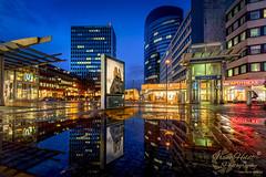 Dortmund (Frank Heldt Photography) Tags: dortmund blaue stunde blauestunde spiegelung canon 5dmarkiv