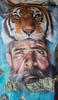 Das Tier in dir. (Heidi St.) Tags: augen augenbraue eye face gemälde gesicht graffiti künstler mainz mainzkastel mann meetingofstyles theodorheussbrücke wandbemalung