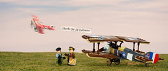 Thank you! (Vaionaut) Tags: 1kfollowers sopwith fokker wwi ww1 royalairforce plane airplane biplane triplane airshow aircraft lego legocity legotown legovehicles vehicle toy toyphoto