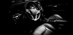 Interior (coverkill) Tags: coche blancoynegro interior móvil lujo paso bajo
