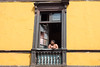 Street Portrait, Lima, Peru (Geraint Rowland Photography) Tags: colonialism colonialarchitecture spanisharchitectureinlima wwwgeraintrowlandcouk rimac lima peru southamerica streetphotography streetphotographytoursinlimawithgeraintrowland window ledge building architecture streetportrait peruvians geraintrowlandphotography canon life candid realpeople