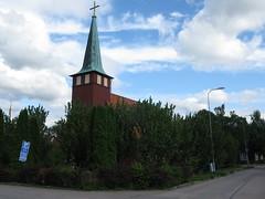 Kärra kyrka, Kärra church, Göteborg, 2011 (biketommy999) Tags: göteborg 2011 biketommy biketommy999 sverige sweden kärra hisingen kyrka church
