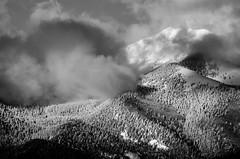 Taos mountain behind the clouds (Wyatt Lane) Tags: landofenchatment newmexico southwest taos mountains ski snow spirituality