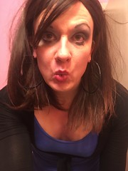 Stefani Slutty (stefani_slutty) Tags: stefani slutty halloween cum dump dumpster yoga blue leotard pantyhose slut whore hooker prostitute blowjob ora sex sensual tongue mouth lips deep throat