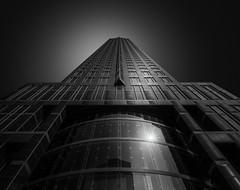 Tower (paulantony2) Tags: monochrome blackandwhite city building architecture frankfurt germany nikon lee filters 10stop