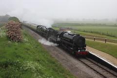 The USA and P&O Double header (372Paul) Tags: toddington broadway cheltenham hailes foremarkehall po kingedwardii 6023 5197 s160 7903 6430 pannier dmu cotswoldfestivalofsteam gloucestershirewarwickshirerailway steam locomotive class20 class26 shunter