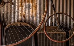 Collector (Junkstock) Tags: aged antique antiques artifact artifacts arizona bard nostalgic nostalgia obsolete old oldstuff oldusedobjects patina relic rustic vintage bicycle yuma