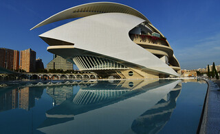 Espagne - Spain : Valence - Palau de les Arts Reina Sofía