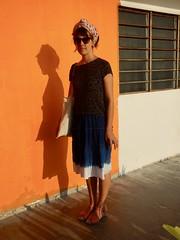"091/365: Langkawi ""street style"" (Michiko.Fujii) Tags: orange portraits warm warmphotographs casalaranja orangebungalow shadowsandlight poeticshadows shadowsonconcrete eveningsunlight"