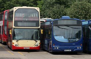 Go North East: 6176 YN56FFS Scania N94UD OmniDekka/East Lancs