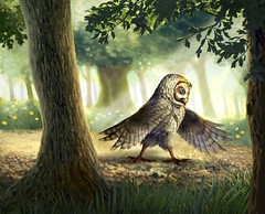 Walk in the Woods (Jeremy Norton) Tags: illustration childrens books childrensbooks childrensillustration characterdesign fantasy magic forest woodland owl story