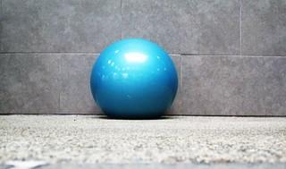 decorative ball in pool area