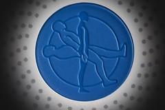 BT9A2205 (jadepike4) Tags: theblues blue macromondays medtronic blues circle spots dots human closeup