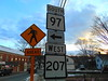 CT 97 (jjbers) Tags: baltic connecticut march 9 2018 road sign ct 97 207