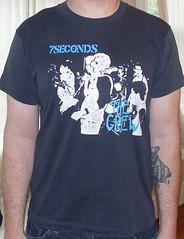 #2936A 7 Seconds - the Crew (Minor Thread) Tags: minorthread tshirtwars tshirt shirt vintage rock concert tour merch 7seconds thecrew punk black hardcore betteryouthorganization byo records 1984