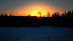 My Sun and I (evakongshavn) Tags: sunsets sunset color colors colours colour colorpalette colorful colourful snow winter winterwonderland winterlandscape landscape landschaft paysage sun letthesunshinein sunlight sunshine