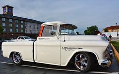 1955 Chevy 3100 (Chad Horwedel) Tags: 1955chevy3100 chevy3100 chevy chevrolet 3100 classic pickup truck hrpt17 bowlinggreen