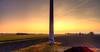 Pillar of Modern Energy. (Alex-de-Haas) Tags: oogvoornoordholland dji dutch fc6310 holland nederland nederlands netherlands noordholland aerial aerialphotography air boerenland drone farmland landscape landschaft landschap lucht meadows skies sky sundown sunset weilanden winter zonsondergang