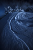 Moonwalk (JD Photographie.) Tags: mont ventoux provence france mountains nature night moon fullmoon alps avignon vaucluse curve stars clouds trees cold winter snow montventoux landscape light