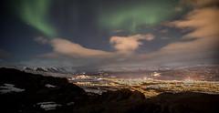 Norðurljós  - Northern Lights (Riverman - Armann) Tags: 2018 armann riverman night akureyri iceland eyjafjörður eyjafjordur ísland island norðurljós northernlights borealis aurora auroraborealis