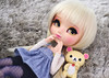"""Come on, Kori! It's Monday!"" (·Yuffie Kisaragi·) Tags: doll pullip miokit custom yuzuaesthetic kimmi revoltech korilakkuma obitsu rewigged rechipped"