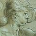 PRIMATICE - Jeune Homme ailé sonnant d'une Trompe auprès d'un Troupeau de Cygnes (Louvre INV8570) - Detail 14