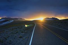 Sunset Road (Luis_Garriga) Tags: puestadesol atardecer sol nubes puna catamarca argentina paisaje sunset light darkness road desierto