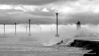 Port Maitland storm
