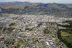 Christchurch City (syf22) Tags: christchurch newzealand downunder kiwi cityscape city citystreet cityscene flying fromabove airplane aeroplane above over landing cityview overview