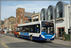 Stagecoach 27577 (GX58 GKJ) (Jason 87030) Tags: broadstairs loop service route thanet kent 27577 bus april 2018 red white blue orange wheels gx58gkj enviro photo photos pic pics socialenvy pleaseforgiveme picture pictures snapshot art beautiful picoftheday photooftheday color allshots exposure composition focus capture moment