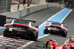 #91 Porsche GT Team - R. LIETZ / G. BRUNI - Porsche 911 RSR - LMGTE Pro & #92 Porsche GT Team - M. CHRISTENSEN / K. ESTRE - Porsche 911 RSR - LMGTE Pro (RaceOnTheEdge) Tags: fiawecprologue2018 supersaison 2018 20182019 castellet championship endurance fia lemans paulricard test wec world lecastellet provencealpescôtedazur france fr