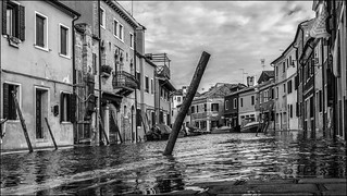 Hochwasser in Venedig / Flooding in venice