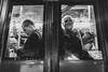 Street Photography: Public Transportation (Frederik Trovatten) Tags: public publictransportation portrait stranger streetphotography street streetphoto streets streetportrait bus eye eyecontact blackandwhite blackandwhitephotography black white fuji fujifilm x100f