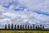 Under the sky of the Tongariki / Под небом Тонгарики (Vladimir Zhdanov) Tags: travel chile polynesia rapanui easterisland sky moai sculpture ahutongariki