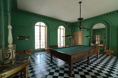 Billiards room, Chateau Malmaison (Joe Lewit) Tags: variosonnart281635 billiardsroom chateau malmaison josephine napoleon