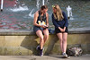 Discussion (Bonngasse20) Tags: girl cute sporty girls swanseatriathlon athletic triathlete triathlon swanseacity swanseabay swansea lycra chatting women female