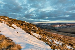 Buckstones Sunset  March 20th 2018 004-Edit (Mark Schofield @ JB Schofield) Tags: buckstones huddersfield scammonden pulehill marsden pennines pennineway watershed rocks standedge snow winter marchhaigh beast east sunset golden landscape colnevalley canon eos 5dmk4