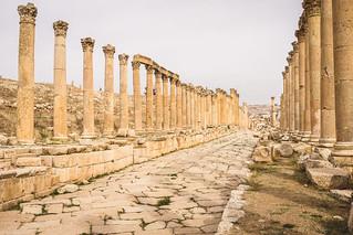 Cardo Maximus Jerash - Jordanien