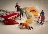 Clean Up in Aisle 4 (HMM) (13skies) Tags: condiment hmm cleaning mustard ketchup flavor flavour yello red tasty food extra eating swallow bucket broom packet macroscopic floor sonyalpha100 a100 happymacromonday macromondays macromonday zest