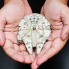 New born Falcon (mr.beaver) Tags: mrbeaver panasonic g7 olympus 35mm macro bandai vehiclemodelno006 strobist 1350 plastic model kits millennium falcon star wars original trilogy
