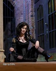 IMG_7490 (Atomic Age Pictures) Tags: bellatrixlestrange harrypotter cosplay pinup pinupgirls pinups stockings heels heelsstockings