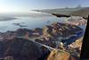 Hoover Dam from World War II Bomber (jswensen2012) Tags: nevada lasvegas lakemead dam hooverdam bridge b24liberator warbird lakemeadnationalrecreationarea