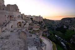 Matera,  Basilicate, Italie (jpto_55) Tags: matera basilicate italie xe1 fuji fujifilm paysage soir fujixf1855mmf284r flickrunitedaward