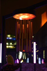 Collectif Blackbox, Chimes, 2017 (art_inthecity) Tags: montréal montreal festivalmontréalenlumière nuitblanche placedesarts installationlumineuse lightinstallation installationsonore lights lumière publicart artpublic night nuit québec