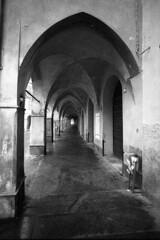 Piazza Fontanesi  - Reggio Emilia - December 2017 (cava961) Tags: piazzafontanesi reggioemilia analogue analogico monochrome bianconero bw
