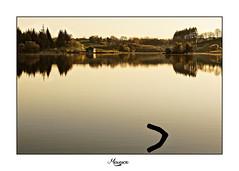 Lac de la Gourde (Aveyron) (L'empreinte Photographique) Tags: aveyron sortie photo coucher de soleil canon 24 105 paysage lac la gourde 12 observatoire oiseau